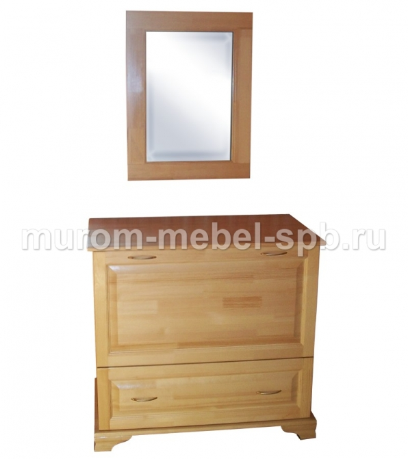 Фото Бельевица с зеркалом