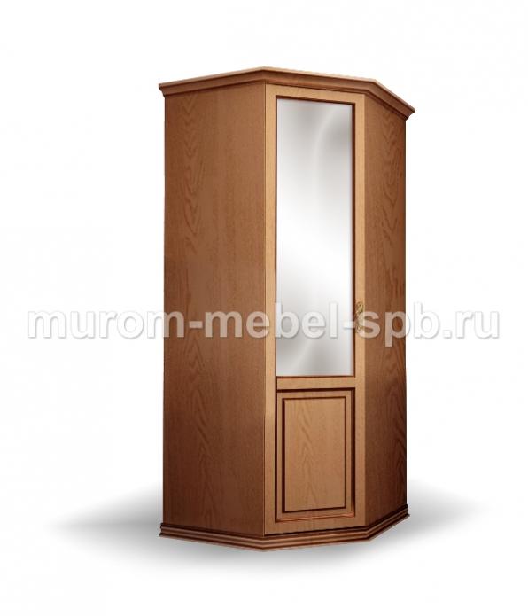 Фото Шкаф 1-створчатый угловой из сосны из серии