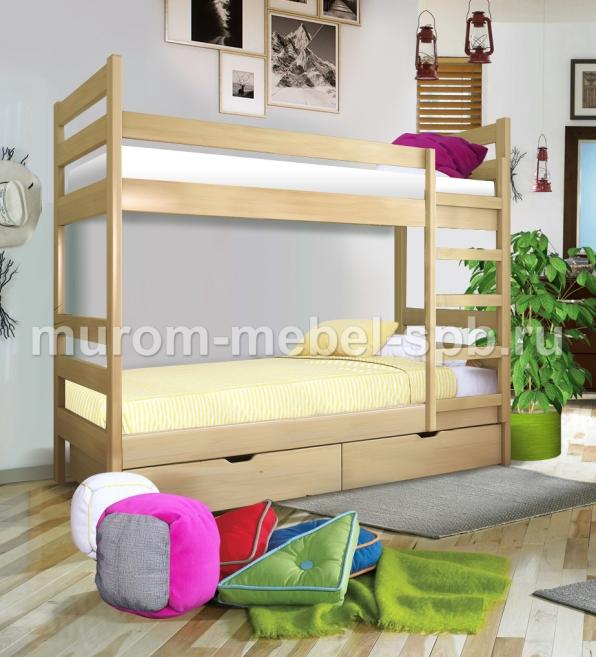 Фото Кровать двухъярусная Классика 1