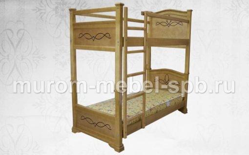 Фото Кровать двухъярусная Соната