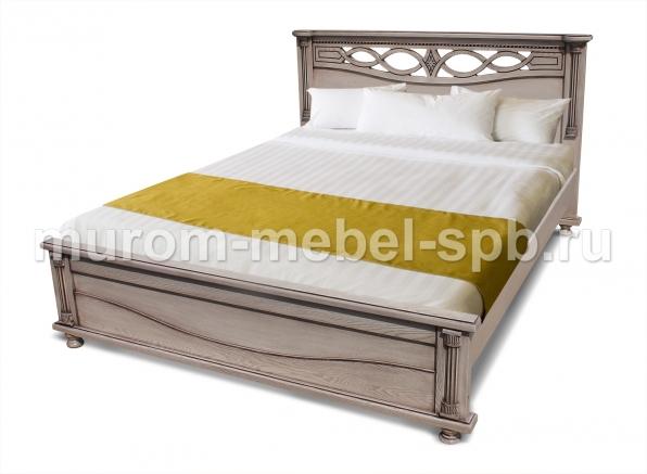Фото Кровать Мелиса из березы