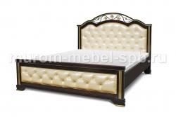 Фото Кровать Амелия с мягкой вставкой