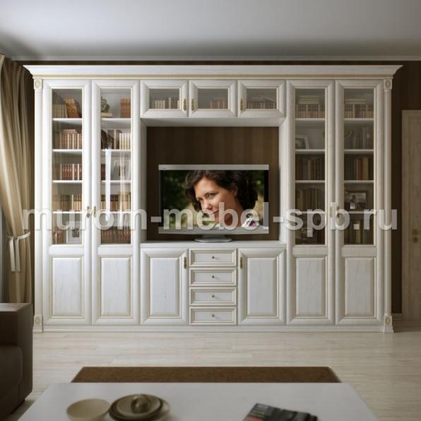 Фото Шкаф с нишей под ТВ из серии