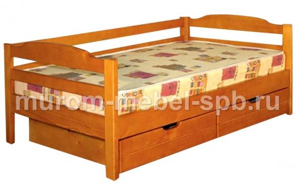 Фото Кровать Детская с ящиками 2