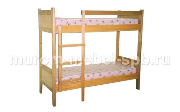 Фото Кровать двухъярусная Классика 3